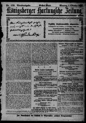 Königsberger Hartungsche Zeitung vom 01.10.1917