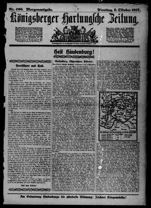 Königsberger Hartungsche Zeitung vom 02.10.1917