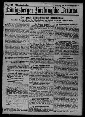 Königsberger Hartungsche Zeitung vom 06.11.1917