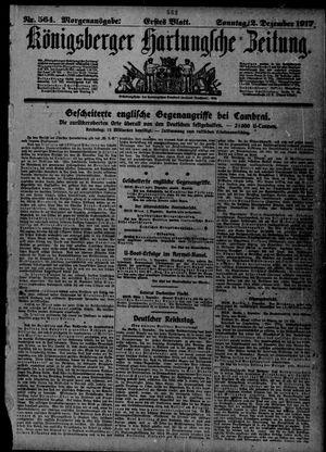 Königsberger Hartungsche Zeitung vom 02.12.1917