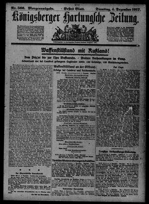 Königsberger Hartungsche Zeitung vom 04.12.1917