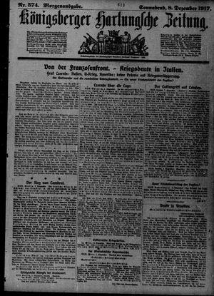Königsberger Hartungsche Zeitung vom 08.12.1917