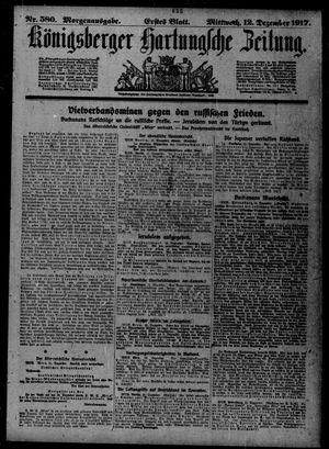 Königsberger Hartungsche Zeitung vom 12.12.1917