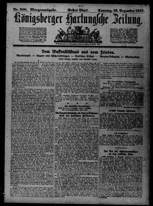 Königsberger Hartungsche Zeitung vom 16.12.1917