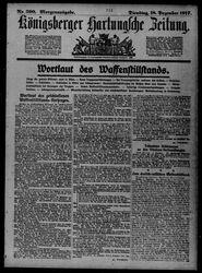 Königsberger Hartungsche Zeitung (18.12.1917)