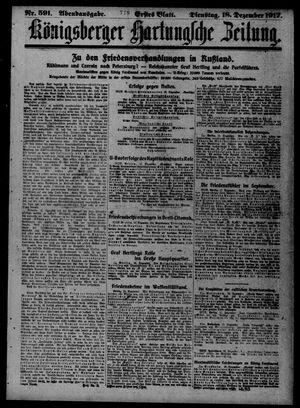 Königsberger Hartungsche Zeitung vom 18.12.1917