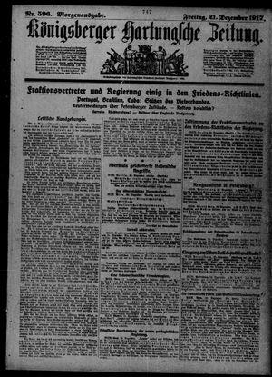 Königsberger Hartungsche Zeitung vom 21.12.1917