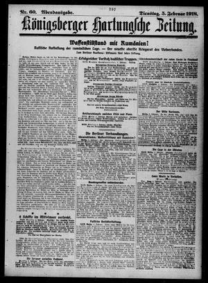 Königsberger Hartungsche Zeitung vom 05.02.1918