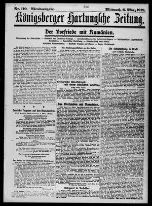 Königsberger Hartungsche Zeitung vom 06.03.1918