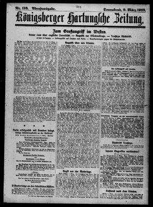 Königsberger Hartungsche Zeitung vom 09.03.1918
