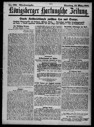 Königsberger Hartungsche Zeitung vom 12.03.1918