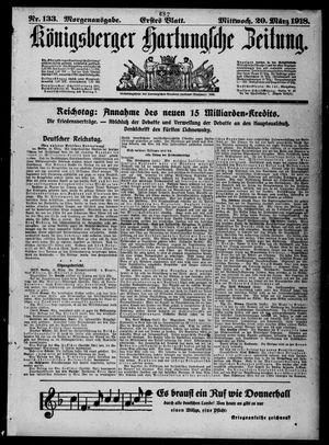 Königsberger Hartungsche Zeitung vom 20.03.1918