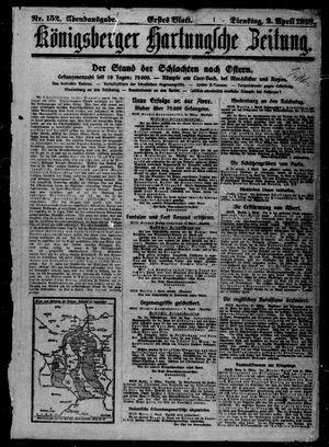Königsberger Hartungsche Zeitung vom 02.04.1918