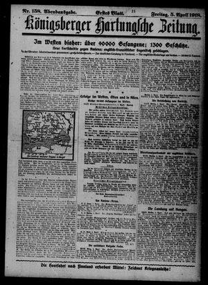 Königsberger Hartungsche Zeitung vom 05.04.1918