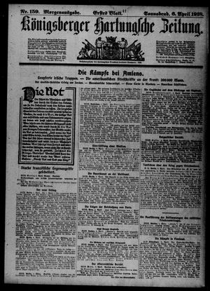 Königsberger Hartungsche Zeitung vom 06.04.1918