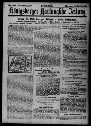 Königsberger Hartungsche Zeitung vom 08.04.1918