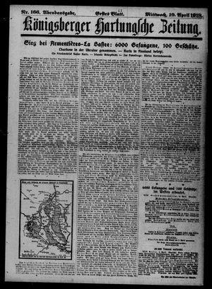 Königsberger Hartungsche Zeitung on Apr 10, 1918