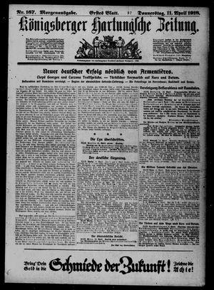 Königsberger Hartungsche Zeitung vom 11.04.1918