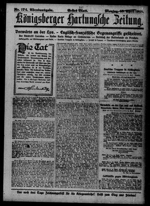 Königsberger Hartungsche Zeitung vom 15.04.1918