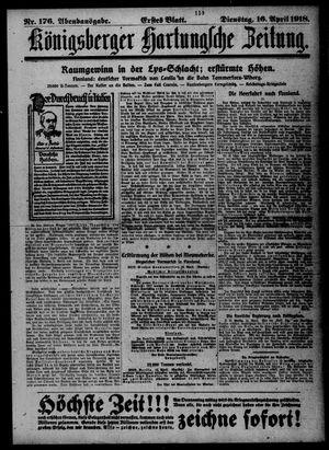 Königsberger Hartungsche Zeitung on Apr 16, 1918
