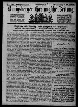 Königsberger Hartungsche Zeitung vom 02.05.1918