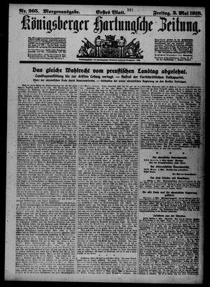 Königsberger Hartungsche Zeitung vom 03.05.1918