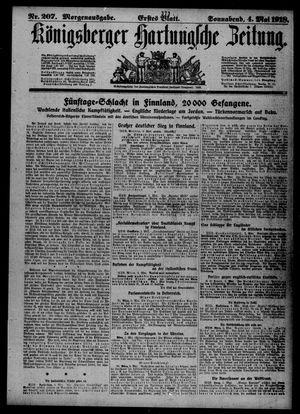 Königsberger Hartungsche Zeitung vom 04.05.1918