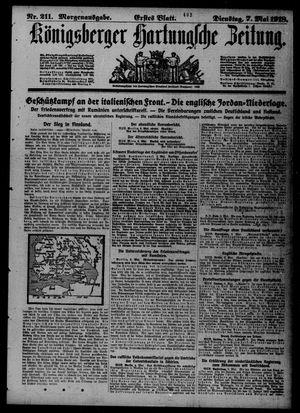 Königsberger Hartungsche Zeitung on May 7, 1918