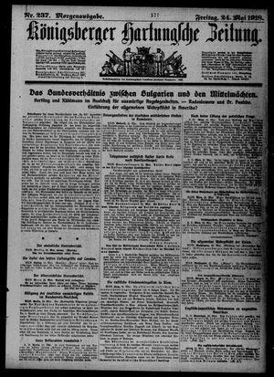 Königsberger Hartungsche Zeitung vom 24.05.1918
