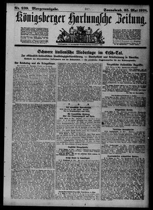 Königsberger Hartungsche Zeitung on May 25, 1918
