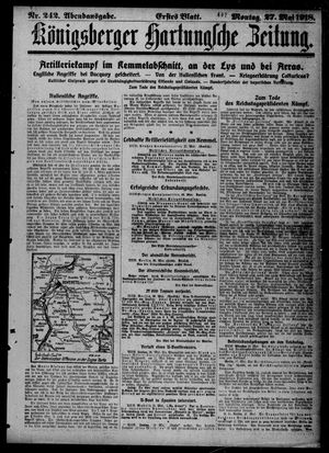 Königsberger Hartungsche Zeitung vom 27.05.1918