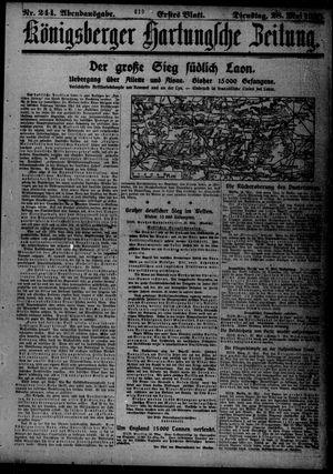 Königsberger Hartungsche Zeitung vom 28.05.1918