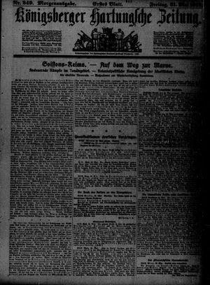 Königsberger Hartungsche Zeitung vom 31.05.1918