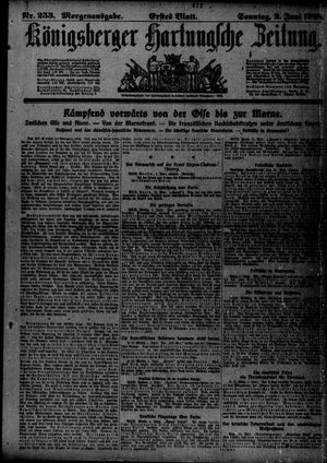Königsberger Hartungsche Zeitung vom 02.06.1918