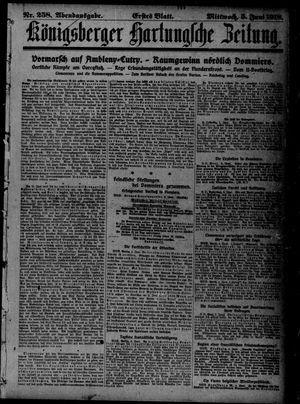 Königsberger Hartungsche Zeitung vom 05.06.1918
