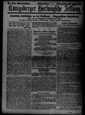 Königsberger Hartungsche Zeitung vom 20.06.1918