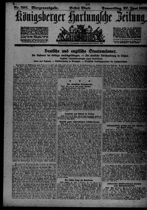 Königsberger Hartungsche Zeitung vom 27.06.1918