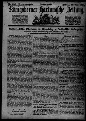 Königsberger Hartungsche Zeitung vom 28.06.1918