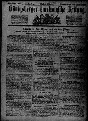 Königsberger Hartungsche Zeitung vom 29.06.1918