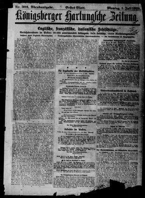 Königsberger Hartungsche Zeitung vom 01.07.1918