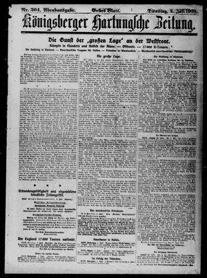 Königsberger Hartungsche Zeitung vom 02.07.1918