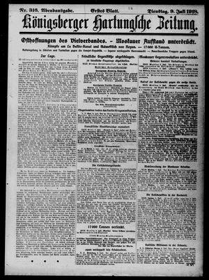 Königsberger Hartungsche Zeitung on Jul 9, 1918