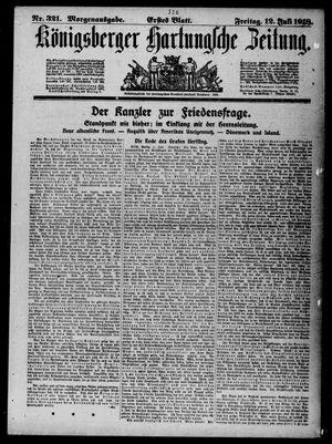 Königsberger Hartungsche Zeitung vom 12.07.1918