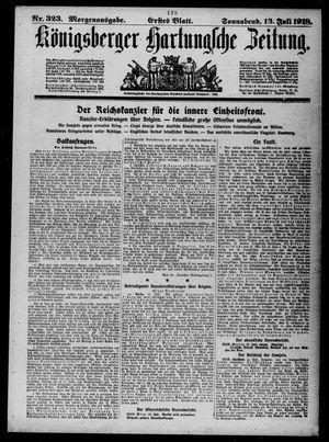 Königsberger Hartungsche Zeitung vom 13.07.1918