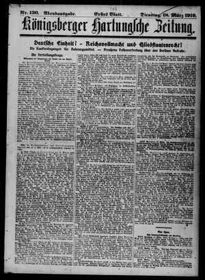 Königsberger Hartungsche Zeitung vom 18.03.1919
