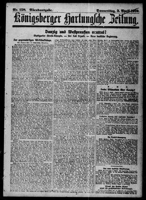 Königsberger Hartungsche Zeitung vom 03.04.1919