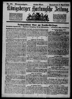 Königsberger Hartungsche Zeitung vom 05.04.1919