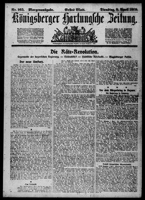 Königsberger Hartungsche Zeitung vom 08.04.1919