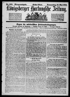 Königsberger Hartungsche Zeitung on May 15, 1919