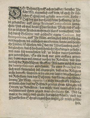 Bericht was sich zu anfang dieß itzt angehenden ... Jahres in Deutschlandt, Franckreich, Welschlandt, Böhmen, Ungern, Nederlandt und in andern örten hin unnd wieder zugetragen vom 03.09.1618